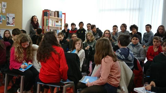 Echanges entre élèves autour des textes écrits sur la Préhistoire !