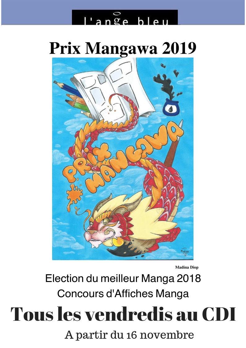 Election du meilleur manga 2018Concours de d'affiches manga.jpg